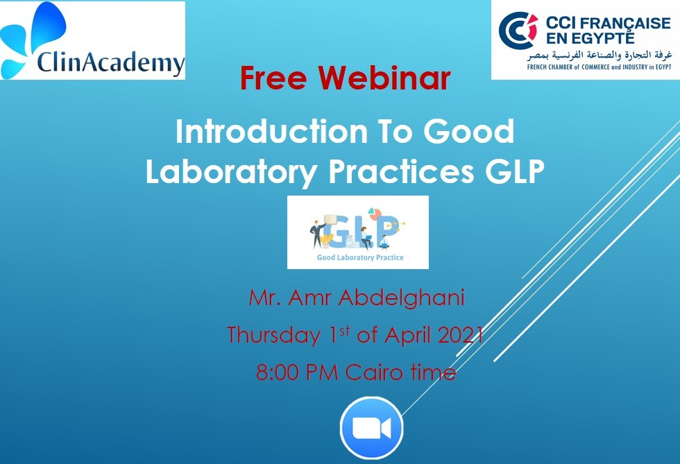 Introduction to Good laboratory Practices ( GLP )